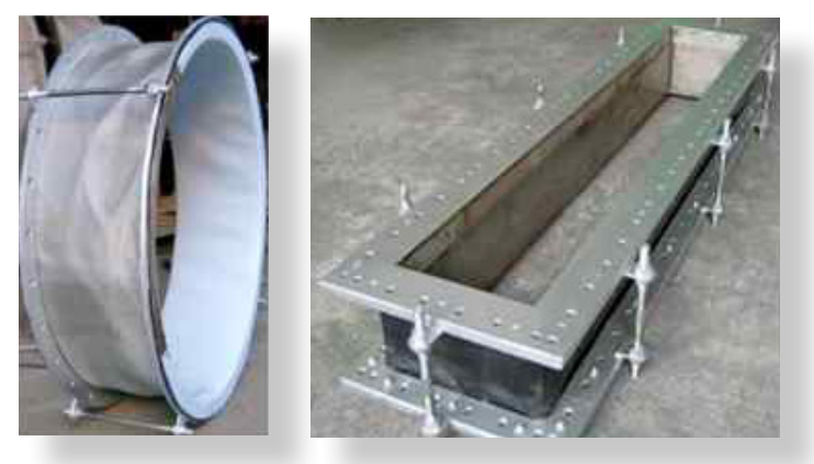 Taconic TacExpan PTFE Coated Expansion Joint Materials Flexible Chemically Inert High Strength Vibration