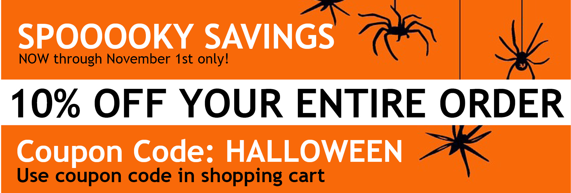 Chefs Planet Specials Halloween Discount Savings